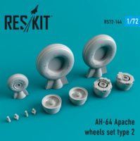 AH-64 Apache  wheels set Type 2 - Image 1