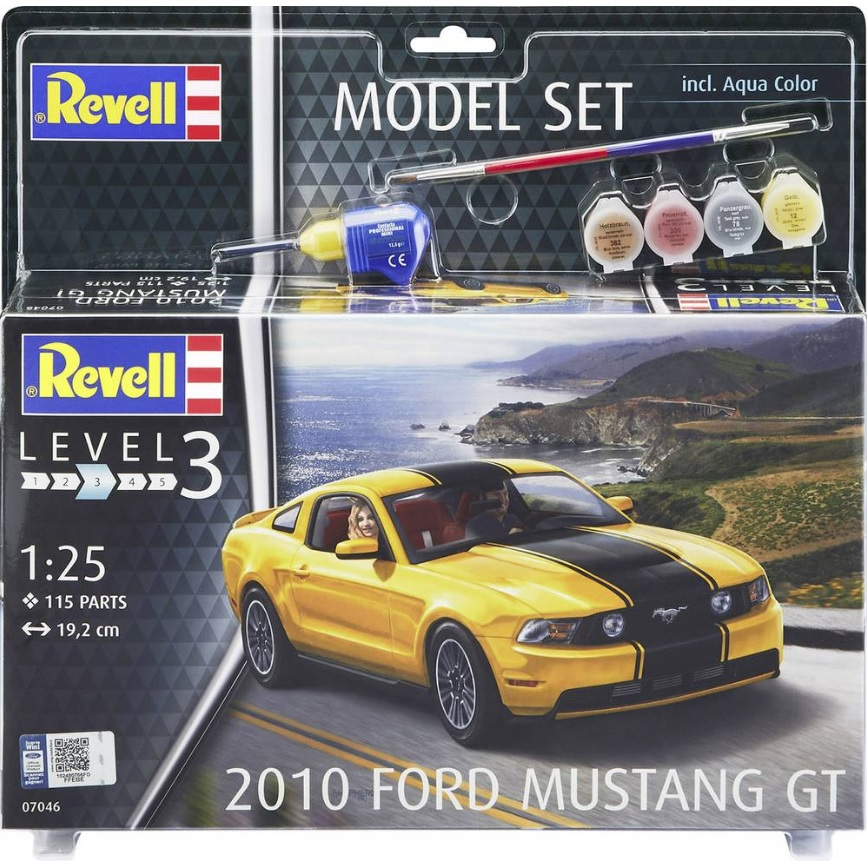 Revell 2010 Ford Mustang GT in 1:25 Revell 07046