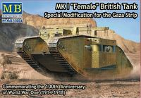 MK I Female British Tank, Special Modification for the Gaza Strip