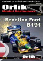 Bolid F1 Benetton Ford B191