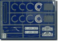 QG1 Photoetched Parts for Corrola - Image 1