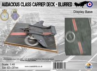 Audacious Class Carrier Deck - Blurred 420 x 297mm - Image 1