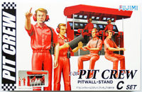 Garage and Tools Series Pit Crew Set C