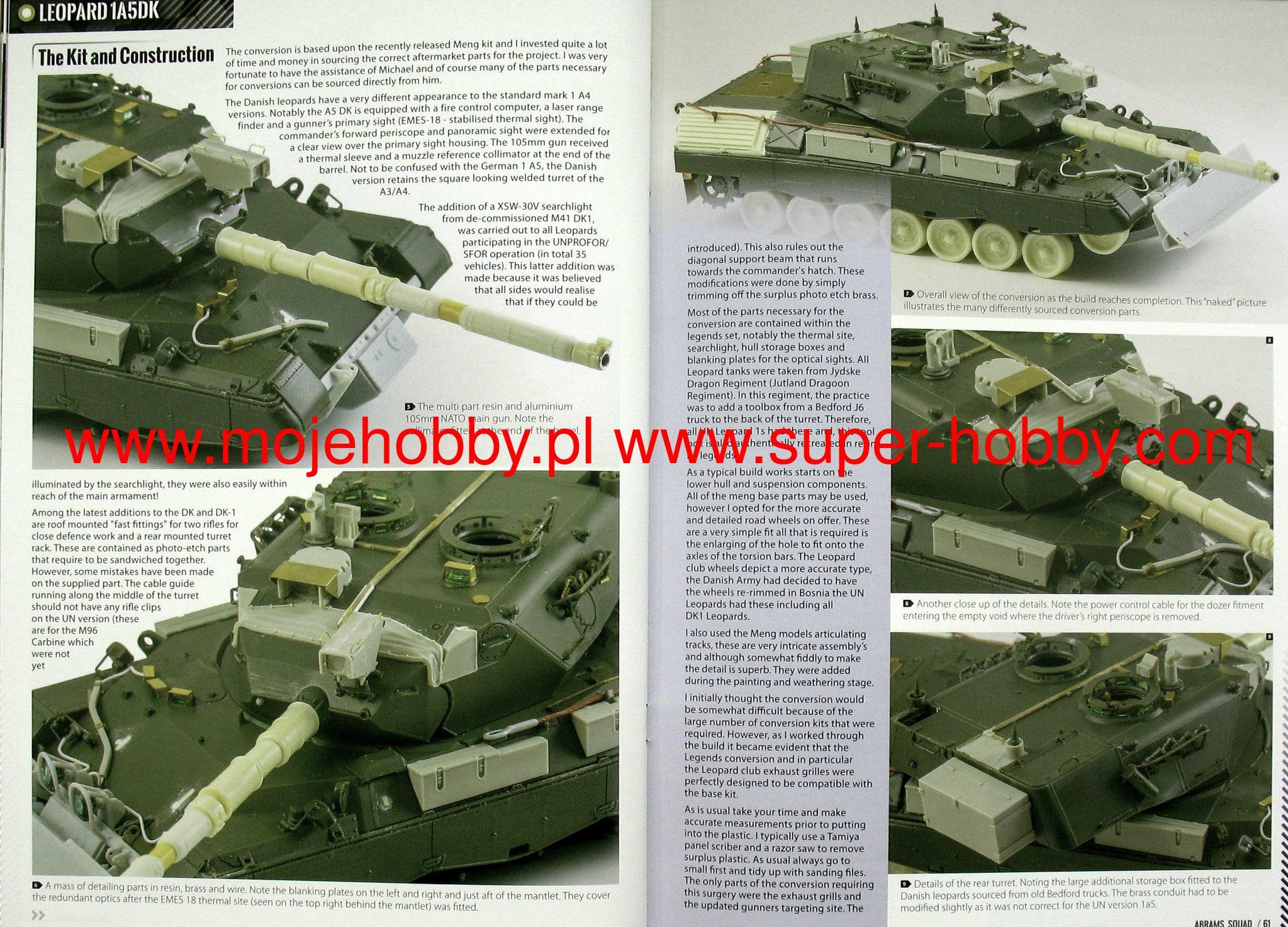 Abrams Squad nr 17 - 2 Tusk Academy RMF, Shilka Diorama, Leopard 1A5DK,  BTR-80, M-ATV, EITAN First images of the future 8x8 of the IDF