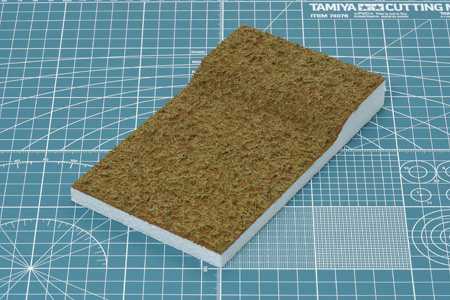 Diorama Texture Paint Grass effect KHAKI Tamiya 87117