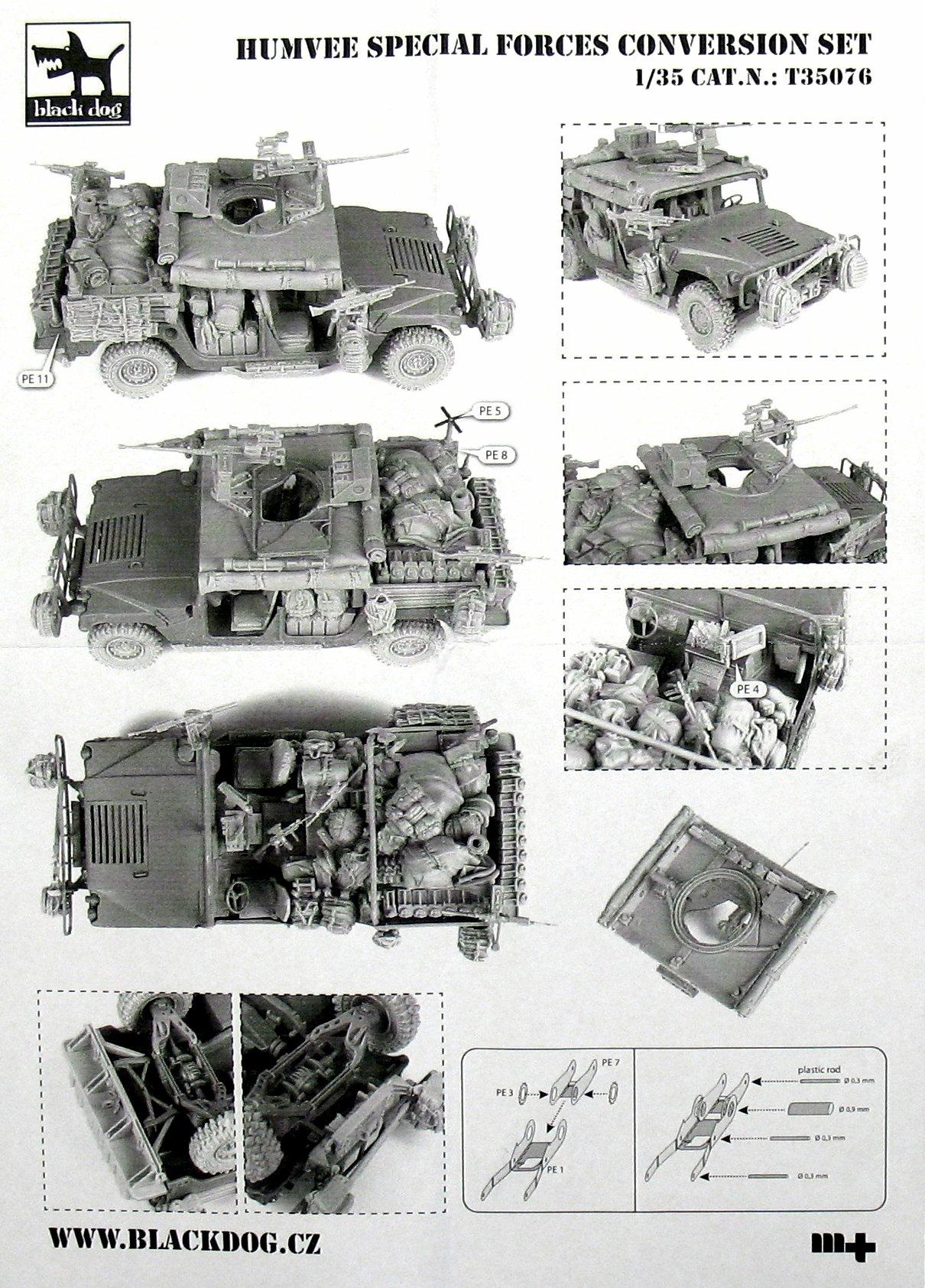 Black Dog Special Forces Humvee