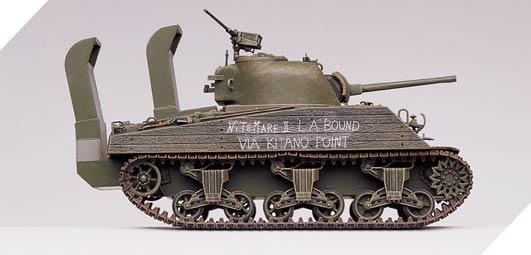 M4A2 SHERMAN U S  MARINES
