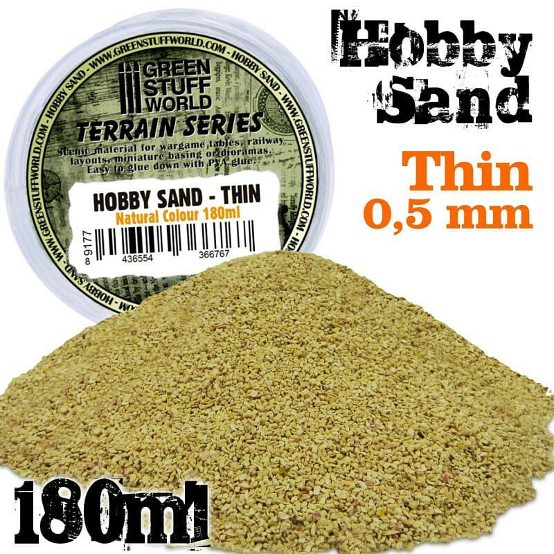 Thin Sand - Natural Colour - Image 1