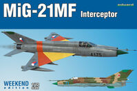 MiG-21MF in CZ Service 1//72 Eduard 2127 Limited Edition Dual Combo