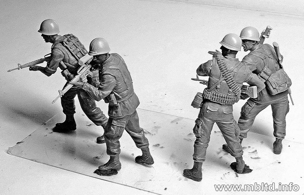 MASTER BOX MB3595 Jungle Patrol Vietnam War Series 1:35