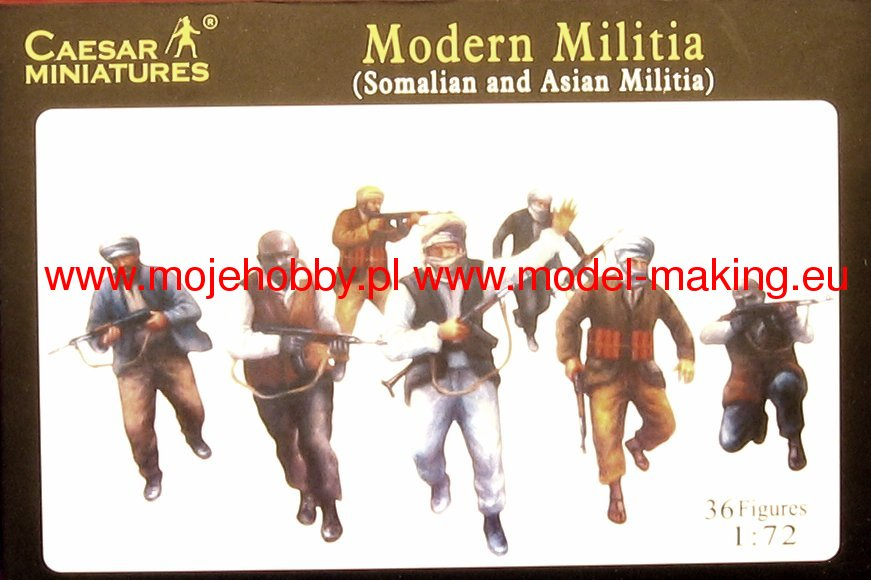 Modern militia 1//72 moderns milician Africans or middle east