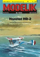 French plane Hanriot HD-2