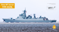 Chinese Navy Destroyer Type052DL