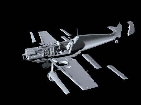 Messerschmitt Bf 109E-4 Special Hobby 72439