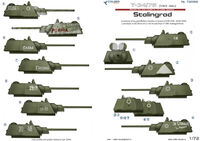 Т-34/76 mod 1942. Battles for Stalingrad. Part 1.