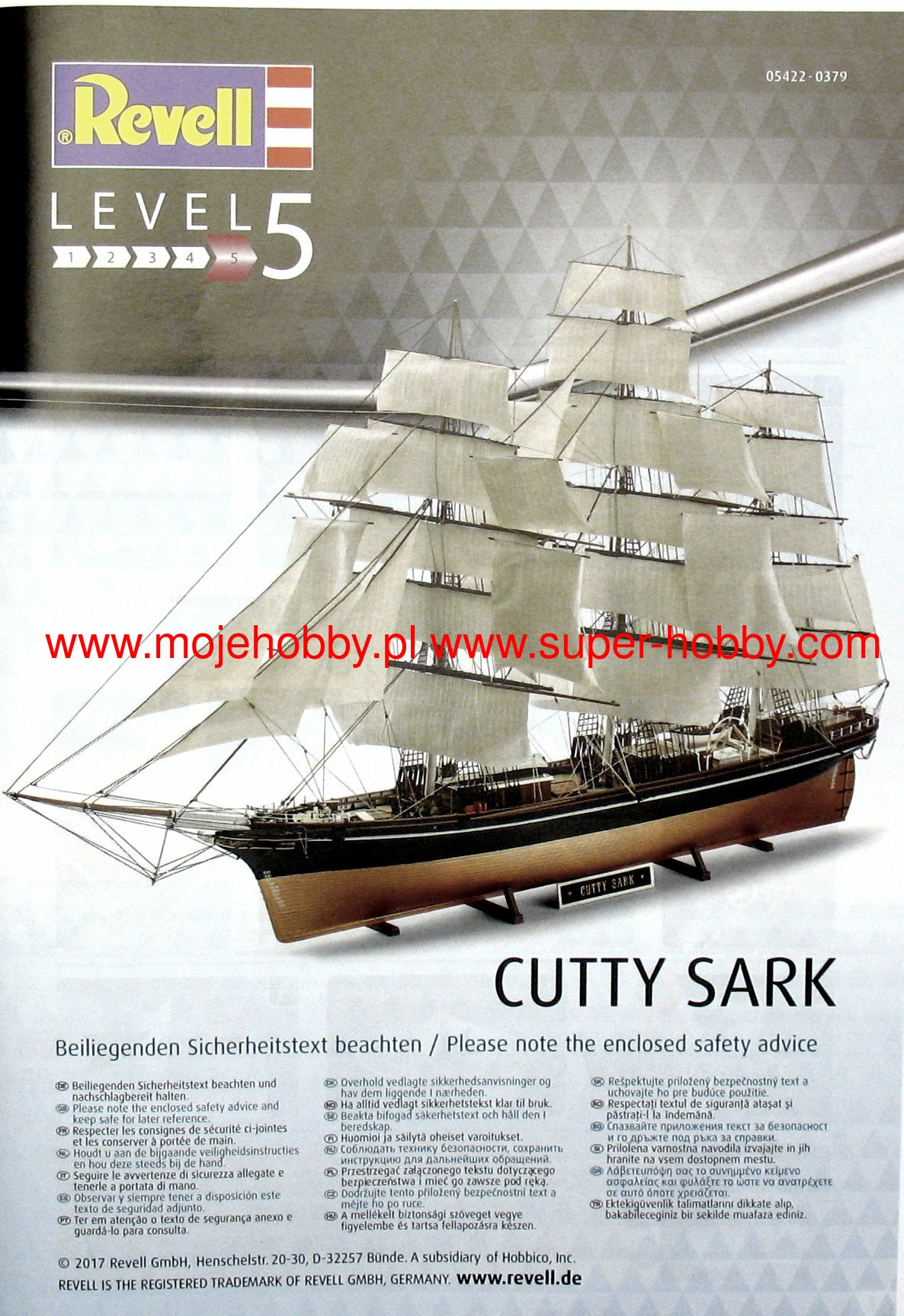 ++ Revell 05422 Cutty Sark  1:96 05422