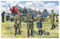 Soviet Air Force Pilots and Ground Personnel (1943-1945)