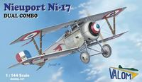 Nieuport 17 French WWI fighter
