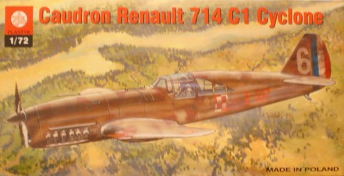 Caudron Renault 714 C1 Cyclone French IIWW Fighter - Image 1