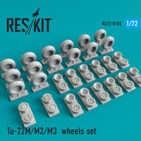 Tu-22М/M2/M3 wheels set - Image 1