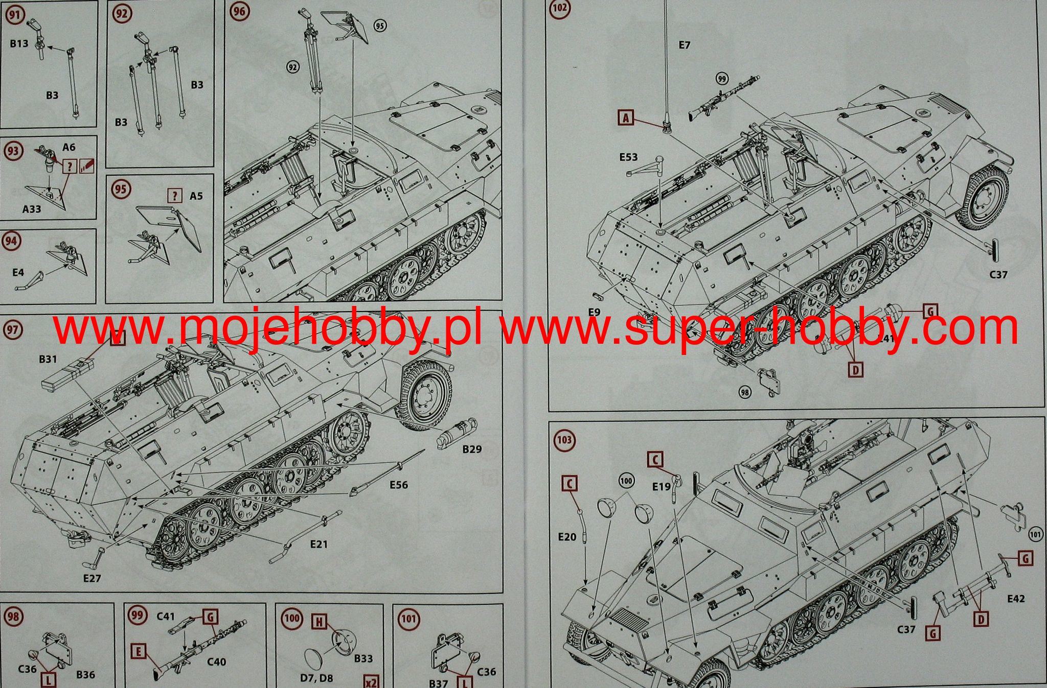 sd kfz 251 1 ausf a icm 35101 Light Switch Wiring Diagram Icm 251 Wiring  Diagram