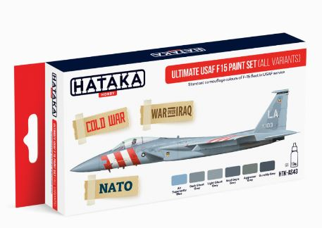 HTK-AS43 Ultimate USAF F15 Paint Set (All variants) - Image 1