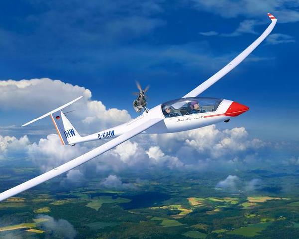 Glider Duo Discus & Engine Revell 03961