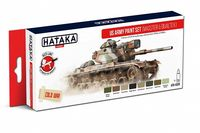 HTK-AS99 US Army paint set (Masster&Dualtex)