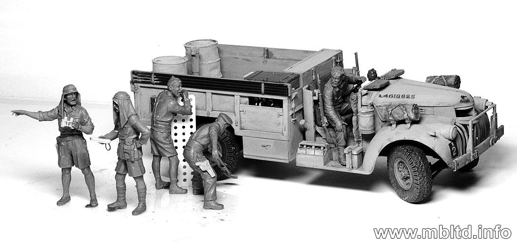 british lrdg long range desert group in north africa 1941 1943 master box 3598. Black Bedroom Furniture Sets. Home Design Ideas