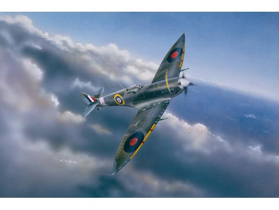 Trumpeter British Spitfire MK VI Plane Model Fighter Aircraft 02413 1//24 Scale
