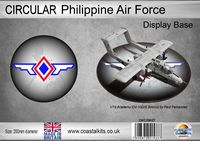 Circular Philippine Air Force 200mm