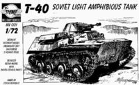 T-40 Sov.light amphibious tank