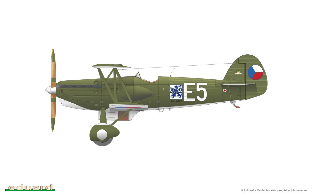 Aerobonus 1//48 Czechoslovakian Air Force Fighter Pilot w//Seat for Avia B.534 III