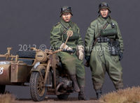 German Motorcyclist Set (2 figs) - Image 1