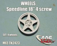 Speedline wheels 5 spoke 4 screw - Image 1