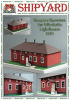 Keepers Quarters for Ulkokalla Lighthouse nr9 skala1:87