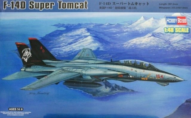 Hobbyboss 80368 1//48 F-14D Tomcat