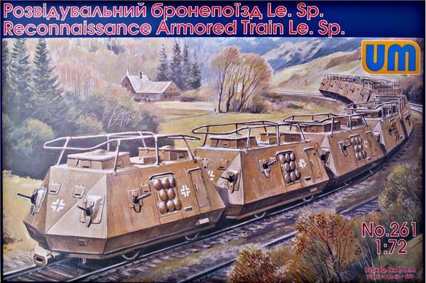 Reconnaissance armored train - Image 1