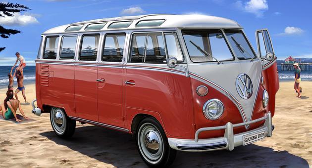 Vw t1 samba bus revell 07399 0 autodownl altavistaventures Image collections