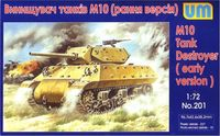 American tank destroyer M10 Wolverine (early version) - Image 1