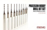 Precision Hobby Drill Bits Set (0.4 - 1.3 mm) - Image 1
