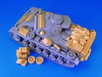 GERMAN Pz.Kpfw.III Stowage set Inc PE Parts - Image 1