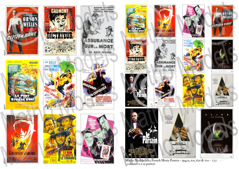 French Movie Posters - 1940s, 50s, 60s & 70s - Image 1