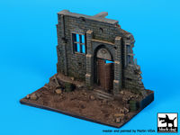 Street with house ruin N°3 base (150x90 mm) - Image 1