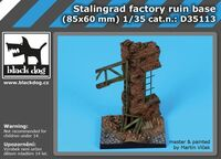 Stalingrad factory ruin base (85x60 mm)