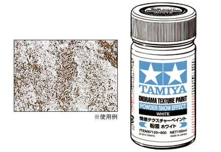 Diorama Texture Paint Powder Snow Effect Tamiya 87120