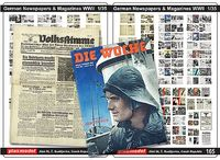 German Newspapers and Magazines, WWII