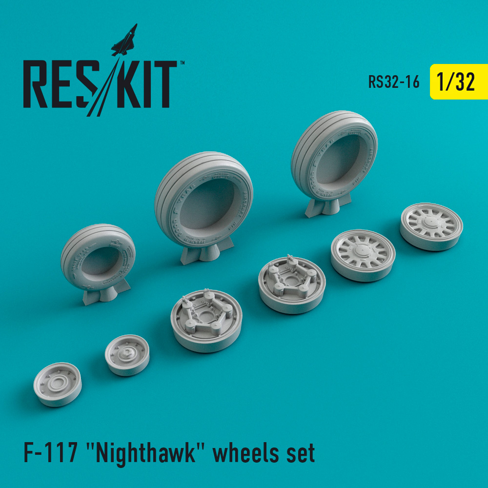 "F-117 ""Nighthawk"" wheels set - Image 1"