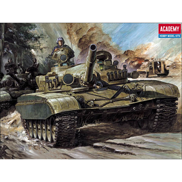 06ea47891523 T-72 RUSSIAN MBT Academy 13006