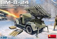 Soviet Rocket Launcher BM-8-24 based on 1,5t Truck - Image 1